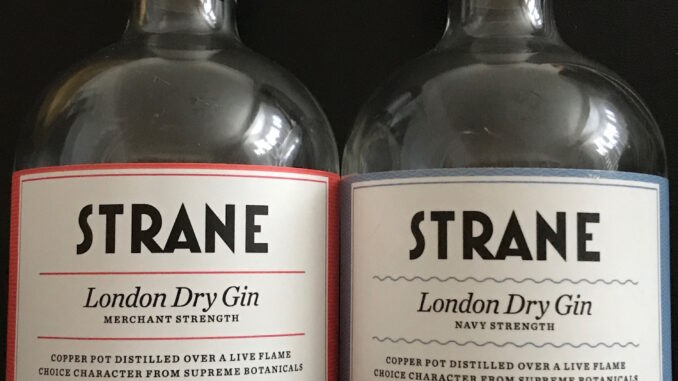 Strane Gin review